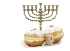 These deep-fried Israeli delicacies symbolize the miracle of the burning oil lamps in the ancient Holy Temple in Jerusalem. Plump up each fr...