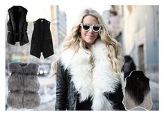 """vest for cold days"" by ada-raj on Polyvore featuring moda, Moon & Meadow, Vince, women's clothing, women, female, woman, misses i juniors"