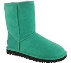 UGG Australia Women's Classic Short Winter Boots,Neon Jade,5 US UGG, http://www.amazon.com/dp/B00593SQV8/ref=cm_sw_r_pi_dp_y1NWqb1M53TD6