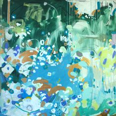 """Chorus, 48"""" by 48"""" gallery wrap, available October 26th"""