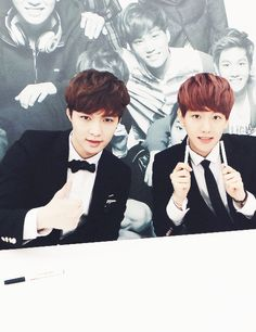 Lay and Baekhyun