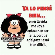 Resultado De Imagen Para Mafalda Frases En Español Funny Spanish Jokes, Funny Baby Jokes, Spanish Humor, Spanish Quotes, Funny Images, Funny Pictures, Mafalda Quotes, Laughter The Best Medicine, Happy Birthday Messages