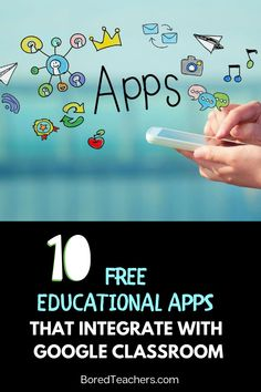 10 Free Educational Apps That Integrate with Google Classroom Presentation App, Interactive Presentation, Learning Apps, Interactive Activities, Classroom Tools, Google Classroom, Free Educational Apps, Best Free Apps, Bored Teachers