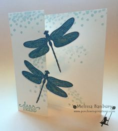 Dragonfly Dreams Partial Die Cut by melissabanbury - Cards and Paper Crafts at Splitcoaststampers