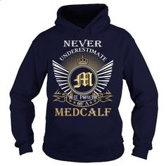 Never Underestimate the power of a MEDCALF - #gift for her #monogrammed gift