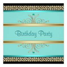 >>>Hello          Aqua Teal Blue Womans Black Gold Birthday Party Custom Invites           Aqua Teal Blue Womans Black Gold Birthday Party Custom Invites In our offer link above you will seeHow to          Aqua Teal Blue Womans Black Gold Birthday Party Custom Invites please follow the link...Cleck Hot Deals >>> http://www.zazzle.com/aqua_teal_blue_womans_black_gold_birthday_party_invitation-161983308388658642?rf=238627982471231924&zbar=1&tc=terrest