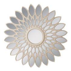 Espejo flor banco rozado, 100x3,5x100cm White Mirror, Home Living, Discount Designer, Branding Design, Home And Garden, Furniture, Home Decor, Cnc, Mirrors