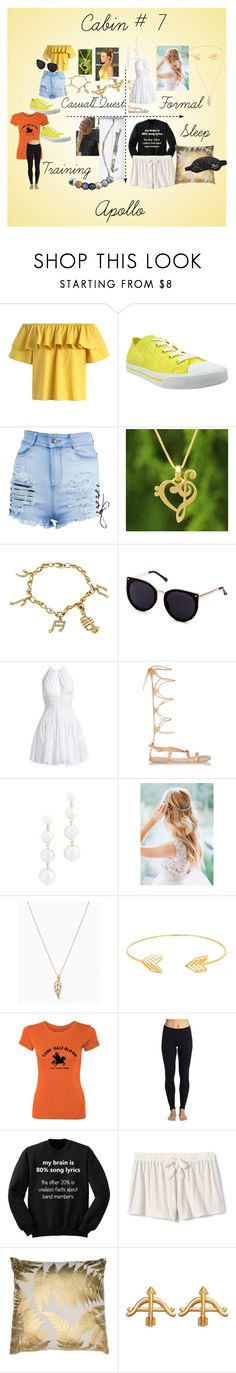 """""""Cabin #7"""" by stonecldfxlol on Polyvore featuring Chicwish, Burnetie, NOVICA, Alaïa, Ancient Greek Sandals, Rebecca Minkoff, Lord & Taylor, Beyond Yoga, Lands' End and Morgan Lane"""