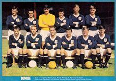 Dundee Vintage – Beyond The Last Man Team Pictures, Team Photos, Retro Football, Football Team, Dundee Fc, Typhoo, Online Scrapbook, Back Row, Last Man