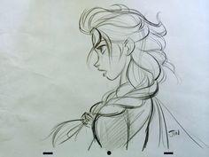 Elsa - Frozen. Jin Kim. Man, I hate Vector animation.