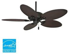 Fan blade angle the greater the angle of the blade the more casablanca 55010 charthouse 54 60 5 blade energy star outdoor ceiling fan bla aloadofball Images