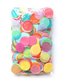 Paper diameter Pack is x Assorted colors Confetti must be mixed to loosen Oh Happy Day exclusive One Balloon, Balloons, Primary Color Party, Baby Shower Chair, Pastel Wedding Colors, Green Bridal Showers, 19th Birthday, Bridal Shower Decorations, Rainbow Baby