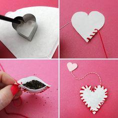 How to make your own custom tea bags - so fun and easy!