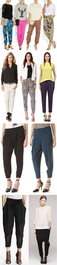 The Skinny on Baggy and Slouchy Trousers - YLF
