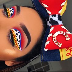Eye Makeup Tips That Nobody Told You About 2 Cute Makeup Looks, Makeup Eye Looks, Eye Makeup Art, Crazy Makeup, Eye Makeup Tips, Pretty Makeup, Disney Eye Makeup, Disney Inspired Makeup, Baddie Make-up