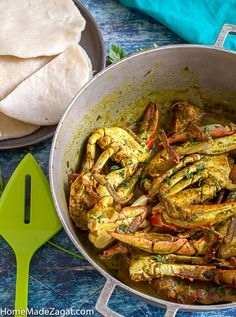 Blue crab, cooked down in a curry sauce with coconut milk. Perfectly paired with boiled dumplings. A quintessential Tobago dish Crab Dishes, Seafood Dishes, Seafood Recipes, Seafood Boil, Jamaican Dishes, Jamaican Recipes, Jamaican Curry Crab Recipe, Jamaican Cuisine, Curry Crab And Dumplings Recipe