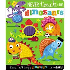 A dinosaur-themed silicone touch-and-feel counting book.Subject 1: Concepts - Counting & NumbersSubject 2: Children's Books/Baby-PreschoolSubject 3: Animals - Dinosaurs & Prehistoric Creatures Free Kindle Books, Free Ebooks, Counting Books, Learn To Count, Make Believe, Prehistoric Creatures, Any Book, Childrens Books, The Hours