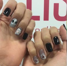 #cat #blach #nails #körmök #2016