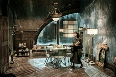Sally Hawkins in a scene from <em>Shape of Water</em>. The window arch was directly inspired by one in 1948's <em>The Red Shoes</em> By Kerry Hayes/Twentieth Century Fox Film Corporation.