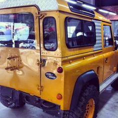 Land Rover limited edition in the house