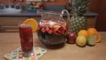 The BEST sangria recipe I've been able to hone to perfection! If you like a sweeter Sangria, use ginger ale in place of club soda.