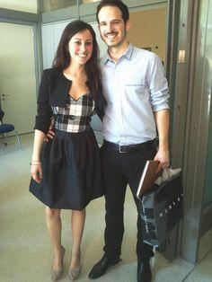 Lara ed il suo ragazzo, il giorno della laurea! BRAVA!