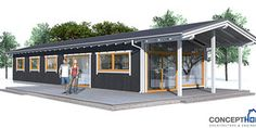 Cheap Home Plans To Build very popular small house plan. good choice for the vacation home