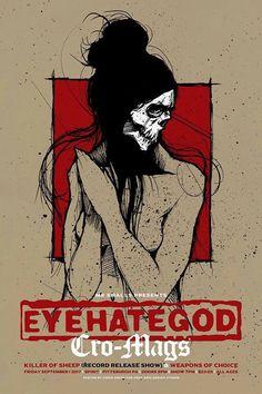 Eyehategod - CroMags - hardcore - NYHC - Sludge - Metal - liveshow 2017