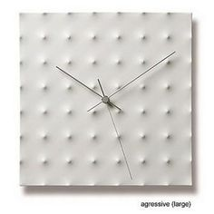 porcelain clock by kanae tsukamoto Contemporary Clocks, Elle Decor, Home Accessories, Porcelain, Modern, Track, Style, Swag, Porcelain Ceramics