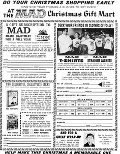 an evaluation of mad magazine founded in the 1960s Mad is an american humor magazine founded by editor harvey kurtzman and publisher william gaines in 1952 launched as a comic book before it became a magazine, it was widely imitated and influential, impacting not only satirical media but the entire cultural landscape of the 20th century.