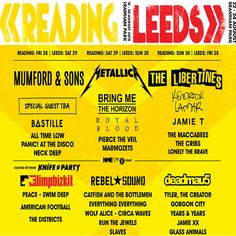 #LimpBizkit to perform at #readingfestival2015 in August