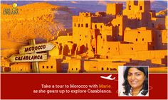 With beaches, history and amazing food on the list, Marie is ready to Grab her Dream in Morocco. Here's a little more about the adventure she is about to take: http://cnk.com/gydmorocco