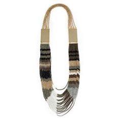 www.cewax.fr aime les bijoux ethno tendance Bijoux ethniques et style tribal. Retrouvez tous les articles sur la mode afro sur le blog de CéWax: cewax.wordpress.com/ multi strand necklace
