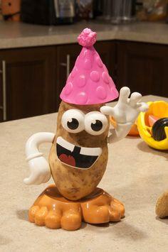 Voici un petit tour rapide (en autant que vous ayez un M. Patate à la maison, et une moyenne patate aussi)