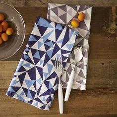 Geometric napkins