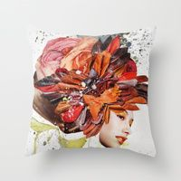 Throw Pillows by Muses.is | Society6