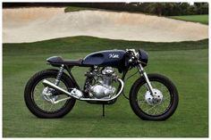 custom 1969 Honda CB350 cafe racer at the Dana Point concours d'Elegance 2013