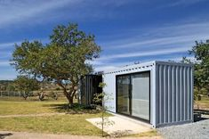 4 Shipping Containers Prefab plus 1 for Guests #containerhomedesign