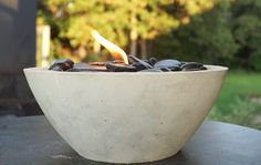 "Sometimes you don't want to build a whole ""fire pit"" adventure in your backyard, but you still want that fire factor. No problem, we found some easy DIY table top fire bowls for you that... Read More"