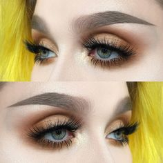 "114 Likes, 2 Comments - @helenesjostedt on Instagram: ""Give me fire I used: @limecrimemakeup Venus ll palette (shadows: mustard and jam) 