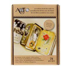 Art-C Accordion Book Kit With Tin