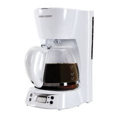 Black Decker 12cup Programmable Coffee Maker *** Visit the image link more details. Note:It is affiliate link to Amazon.