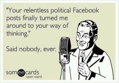 Facebook Political Posts