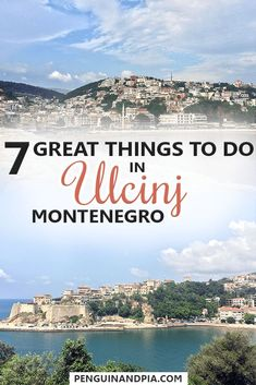 Ulcinj, a seaside town in Montenegro, might be not as well-known as Bar or Budva, but offers many things to do nonetheless. From walking through the Old Town to seeing Flamingos at the Salinas and relaxing on the Longest Beach of the country - there is something for everyone! #ulcinj #montenegro #balkantravel #europetrip #seasidetown #beach #sightseeing #thingstodo