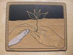 Handy tips for repairing lino cut plates  http://aijungkim.blogspot.co.uk/linocut-surgery-and-other-challenges.html