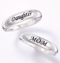 Sterling Silver Sentimental Band Ring