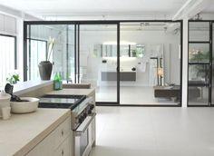 Sliding doors | Showroom Sjartec | Tudor | Slim Line | www.tudor-kozijnen.nl/