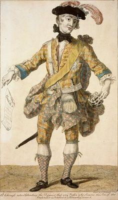 Prince Charles Edward Stuart, 1720 - 1788. Eldest son of Prince James Francis Edward Stuart ('Wanted Poster') by Richard Cooper