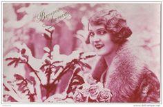"""Carte Postale Ancienne """"Bonne Année!"""" France 1930."""