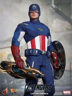 [HOT TOYS] The Avengers: Captain America